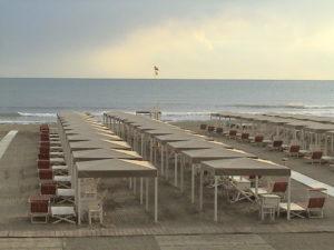 Bagno Bragozzo vista spiaggia