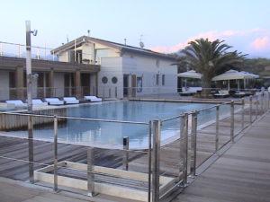 Bragozzo piscina tramonto