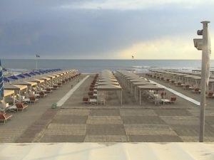 Bragozzo spiaggia vista